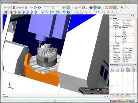SURFCAM Tutorial - Machine Simulation: Overview