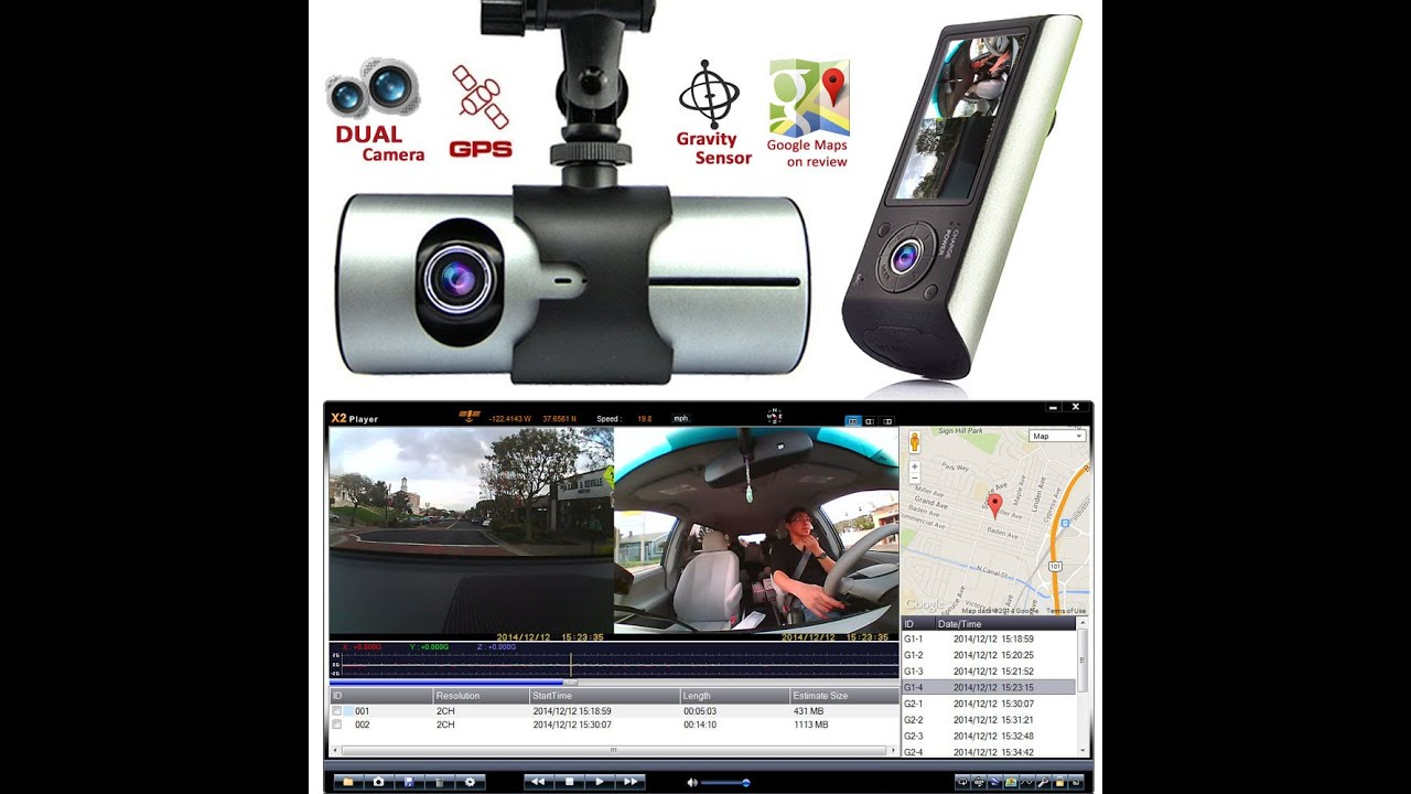 indigi hd dash camera with dual lens dvr and gps navigation youtube rh youtube com Car Auido Car Audio Speakers