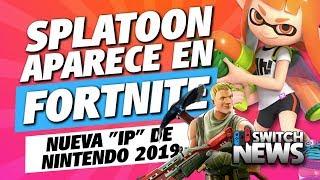 """DISCOVER THAT SPLATOON arrivera à FORTNITE? Nouveau """"IP"""" et Joy-Con de Nintendo Nouvelles de commutateur"""