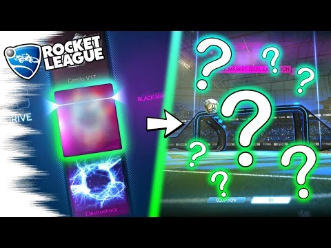 Rocket League Crate Opening Q&A -The BEST CAR? BLACK MARKET