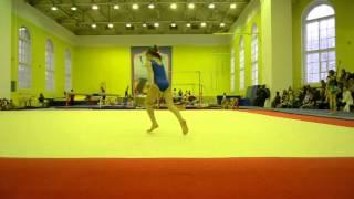 Спортивная гимнастика, вольные 3 взрослый разряд у девочек