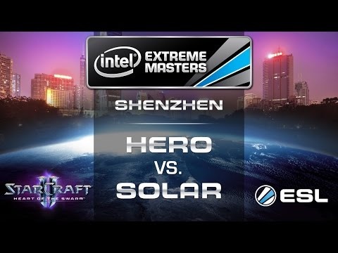 HerO vs. Solar - PvZ - Group C - IEM Shenzhen - StarCraft 2