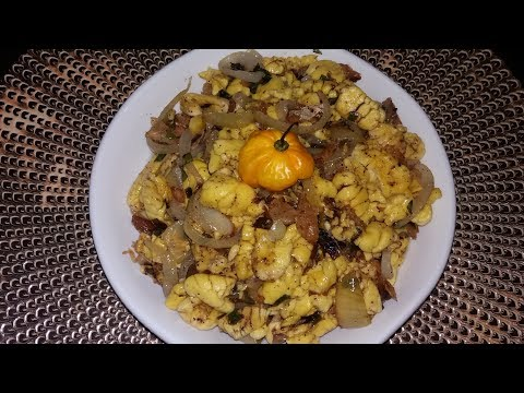 Authentic Jamaican Ackee And Saltfish From Scratch