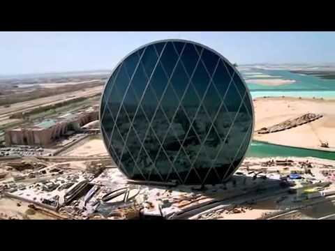 Aldar HQ - The worlds first circular skyscraper Abu Dhabi Truly Amazing - www.SimplyAbuDhabi.com.mp4