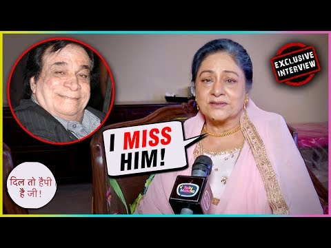 Aruna Irani EMOTIONAL REACTION On Kader Khan's Demise | Dil Toh Happy Hai Ji | EXCLUSIVE INTERVIEW