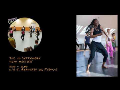 Corso di danza afro a Padova con Solo Diedhiou