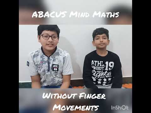 Mind Maths - Kushagra, Bhavya And Vanshika