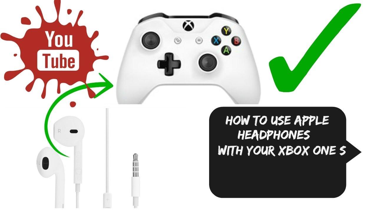 760f1abb9de How to use apple headphones on Xbox one - YouTube
