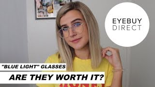 Blue Light Glasses Review feat. EyeBuyDirect
