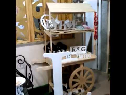 Carros De Madera Para Jardin Of Carro De Chuches De Madera Youtube