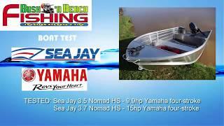 Baixar Boat Test - Sea Jay Nomads and Yamaha four-stroke