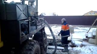Бурение артезианских скважин в Яльгелево(Бурение артезианских скважин в Ленинградской области., 2013-12-02T20:31:09.000Z)