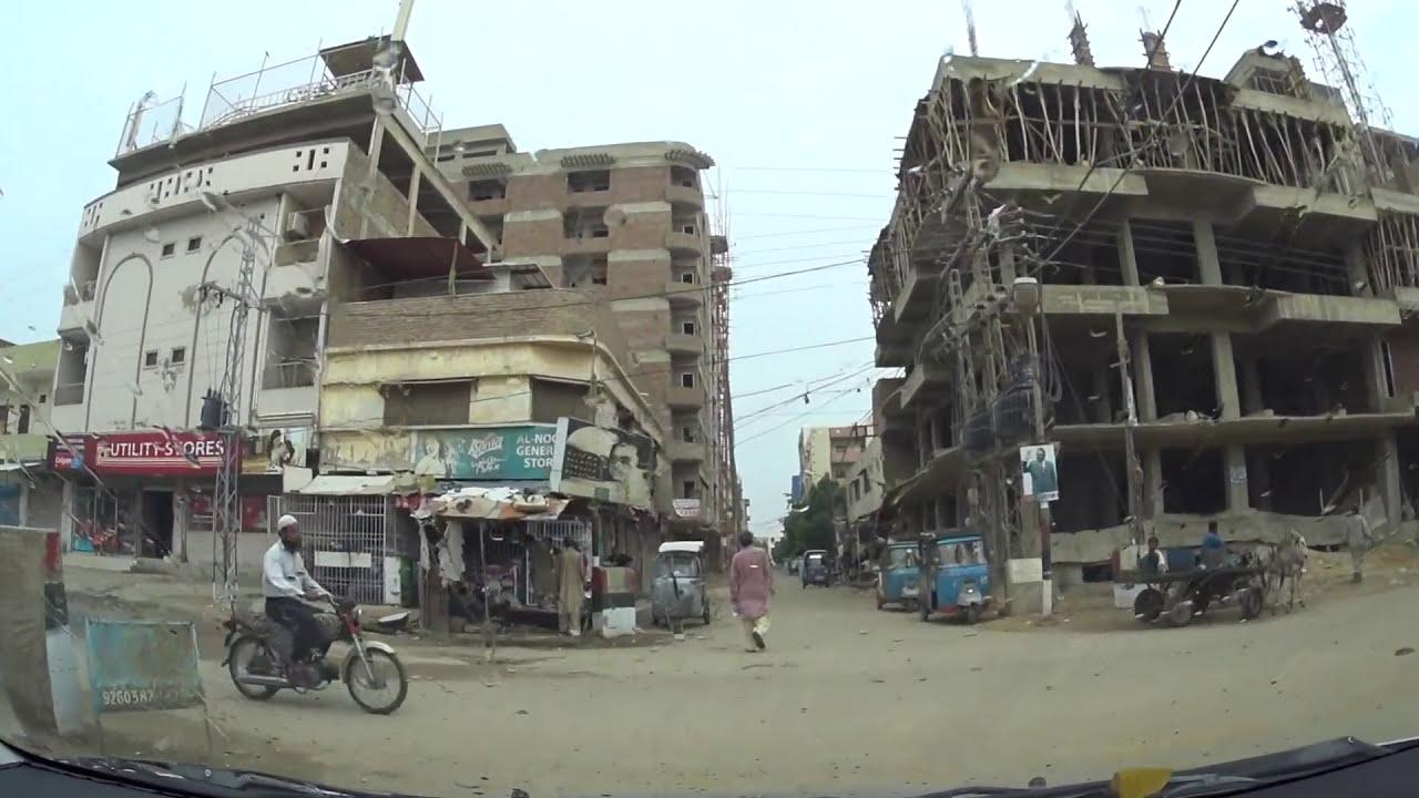 Hyderabad Ride: Latifabad No  8,7,6 & 10