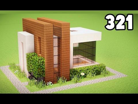 Minecraft construa uma casa moderna bonita r pida e f cil for Casa moderna y pequena en minecraft