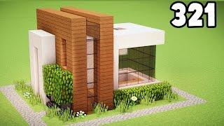 Minecraft: Como construir uma pequena casa moderna Tutorial (Casa Fácil no Minecraft Survival)