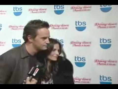 "Courteney Cox and Matthew Perry ""Daisy Does America"" Premiere Red Carpet"