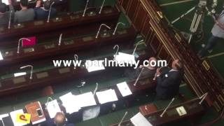 كمال أحمد فى أول كلمة بعد عودته للبرلمان: لا مواجهة لظاهرة الهجرة إلا بالتنمية (فيديو)