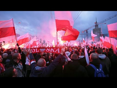 Poles celebrate independence day