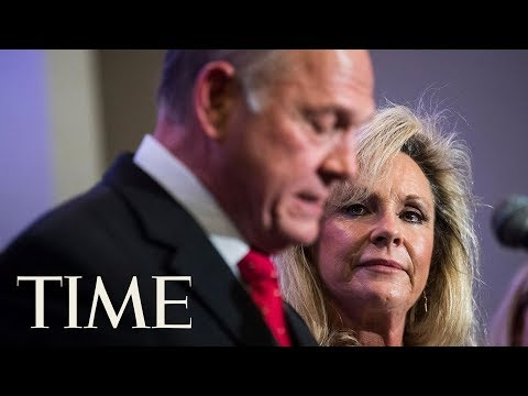 Roy Moore's Wife Says He Will Not Step Down From Senate Race Amid Sexual Assault Allegations | TIME