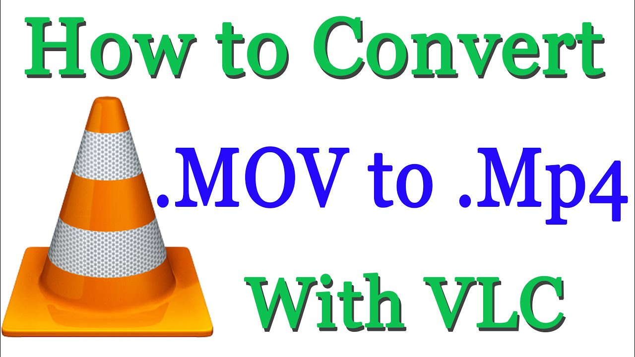 convert a mp4 to mov