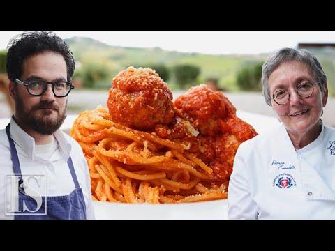 Spaghetti con le polpette: originale vs. american style con Luciano Monosilio e Patrizia Corradetti