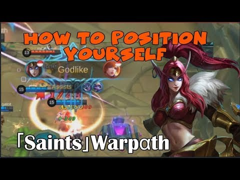 「Saints」Warpαth | LEARNING IRITHEL WITH THE GLOBAL RANK 1 PLAYER (Mobile Legends)