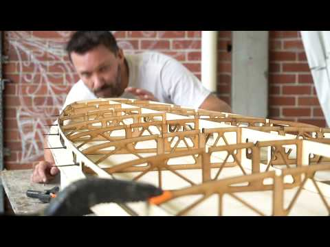 How to build a hollow wooden surfboard part 2