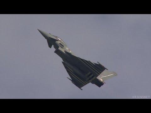 Air 14 Eurofighter Display Sun.-Sat.-Fri.
