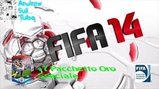 #7 pacchetto oro speciale FIFA 14