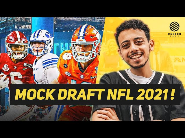 JE PRÉDIS LE FUTUR DE LA NFL : MOCK DRAFT NFL 2021