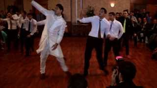Greatest Mehndi (Wedding) Dance EVER! - Zeeshan and Aziza