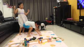 27 May 2014 - Kids doing silly dancing Thumbnail
