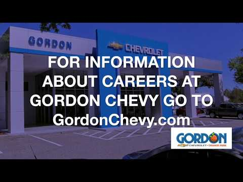 Why I Love working at Gordon Chevy in Orange Park FL