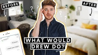 Making Over My Subscribers Rooms!!! - What Would Drew Do #1