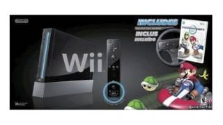 Nintendo Black Wii Console With Mario Kart Bundle  Review