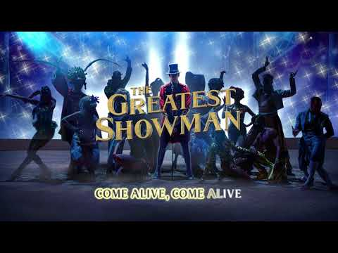 The Greatest Showman Cast - Come Alive (Instrumental) [Lyric Video]