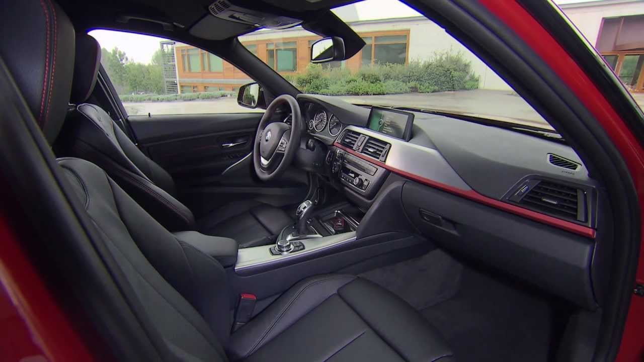 Bmw 328i f30 sport line interieur design youtube for Interieur sport norseman