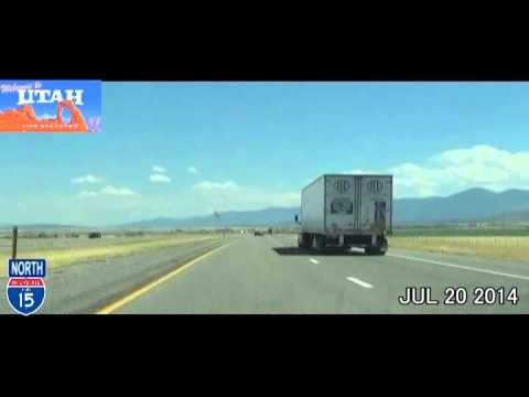 las vegas nv to salt lake city ut time lapse drive 2014. Black Bedroom Furniture Sets. Home Design Ideas