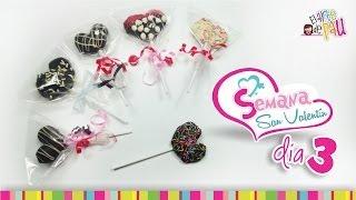 (Day 3) Strawberry Lollipop Valentine's Day/ (Día 3) Paleta de fresa San Valentín Thumbnail