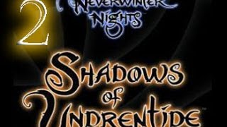 видео Игра Neverwinter nights: Shadows of Undrentide (Невервинтер, Ночи Невервинтера