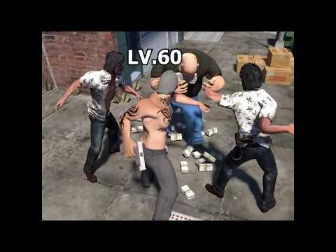 mafia city punching fat guy ad