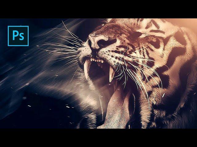 Fantasy Tiger - Photoshop Manipulation Tutorial