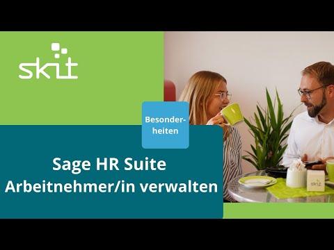 Sage HR Suite - Arbeitnehmer/in verwalten - Besonderheiten