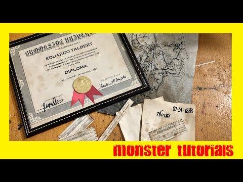 DIY Antique Paper Tutorial - Vintage Documents, Labels and Prints