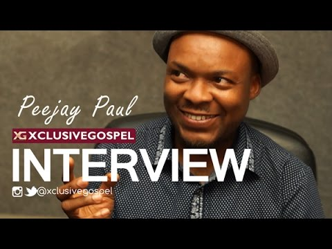 Peejay Paul [@iampeejaypaul] Interview on XGTV [@xclusivegospel] Part 1