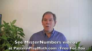 Pattern Play Math A Right-brain Approach To Math By Misternumbers