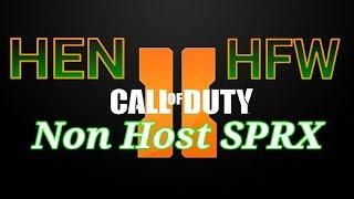 How To Install BlackOps 2 Non Host SPRX G'Henisys on BO2 HEN HFW PS3 (2019)