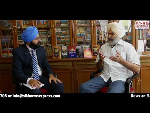 Exclusive Interview on Kashmir Conflict & SYL |Former IAS Gurtej Singh | Part 1| SNE