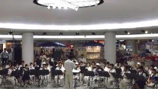 あまちゃん オープニングテーマ曲、広島市消防音楽隊による演奏です。