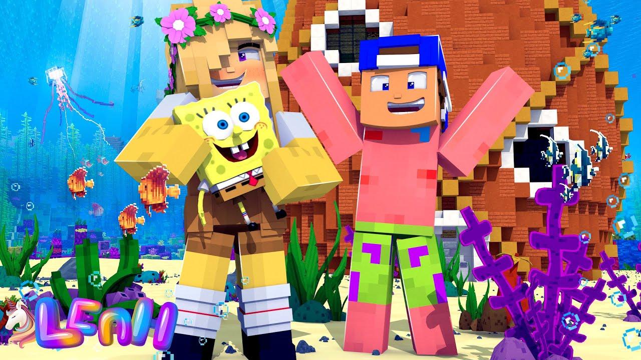 Minecraft CARTOON LIFE - HOW TO BECOME SPONGEBOB!!!